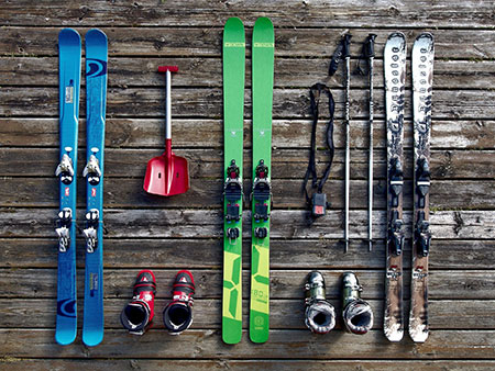 Ski verschicken - achten Sie auf die Maße