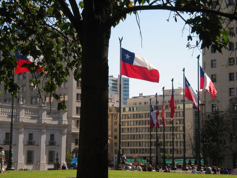 Versand nach Chile