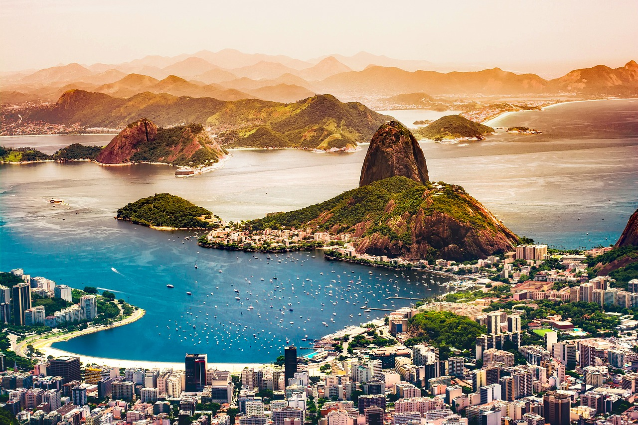 Versand nach Brasilien