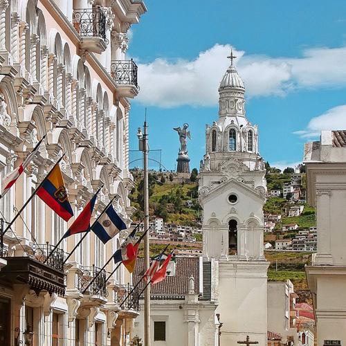 Lieferung nach Ecuador