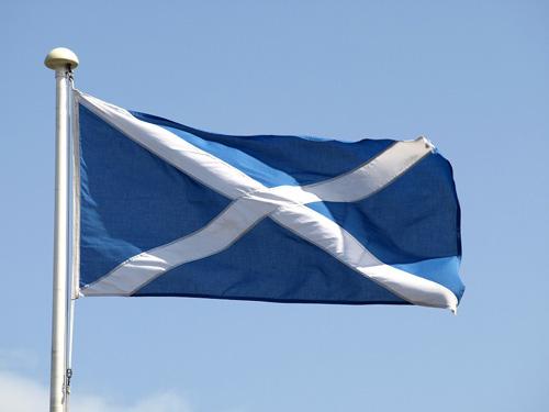 Paket nach Schottland
