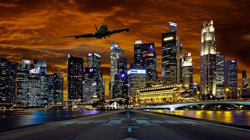 Paket nach Singapur