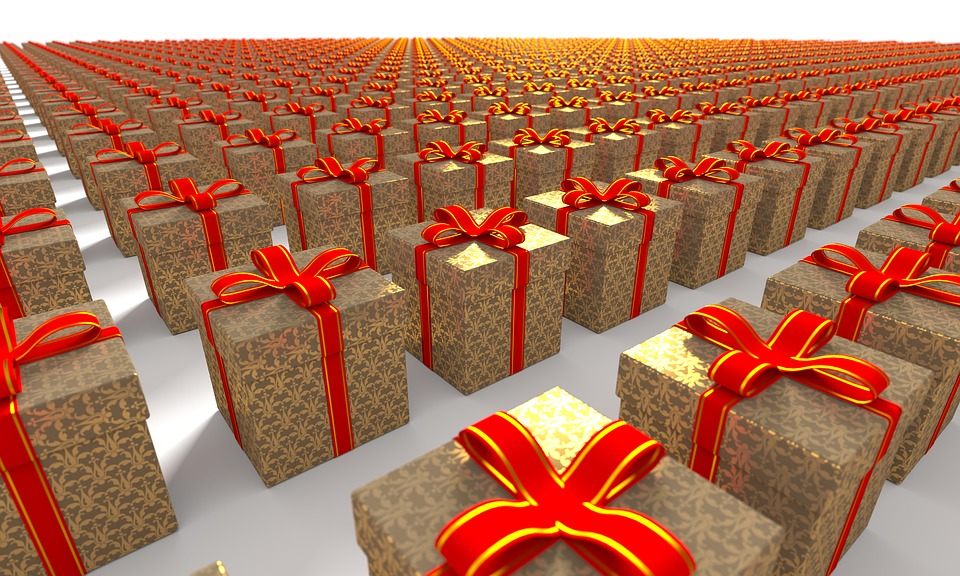 Paketversand zu Weihnachten