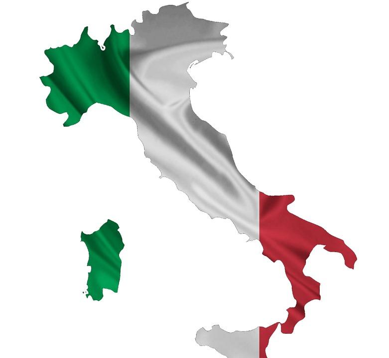 Paket nach Italien