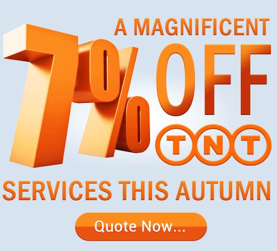A magnificent 7% off TNT services this autumn